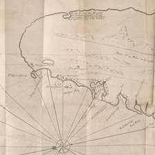 Map of the island of St. Lucia