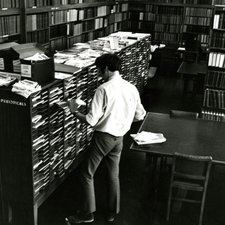 Library at Chelsea College of Science & Technology, 1960s (Ref: C/PH4/16)