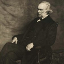Lister, aged 68. From the original painting by John Henry Lorimer, 1895