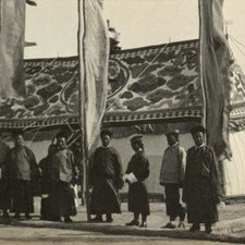 Photograph of the Sikkim tents