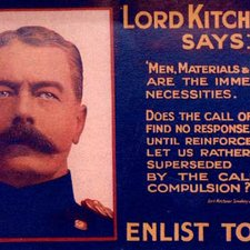 Kitchener recruiting poster in World War One