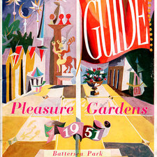 Battersea Park guide for the Festival of Britain, 1951