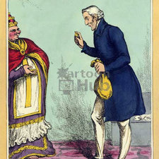 Caricature of Wellington