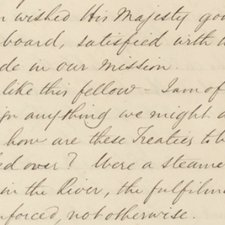 Extract, from: William Cook. Journal of Mr. William Cook, one of the commissioners attached to the Niger expedition [manuscript]. 1841 [FCO Historical Collection DT360 COO]