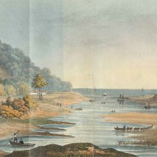 The Kowie River as depicted in: Thomas Philipps. Scenes and occurrences in Albany and Caffer-Land, South Africa. London: William Marsh, 1827 [FCO Historical Collection DT2020 PHI]