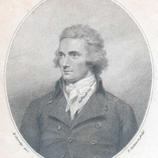 Portrait of Mungo Park, from: Mungo Park. Travels in the interior districts of Africa: performed under the direction and patronage of the African Association, in the years 1795, 1796 and 1797. London: printed by W. Bulmer and Co. for the author, 1799 [FCO Historical Collection DT356 PAR]