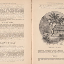 A description and illustration of St Lucia