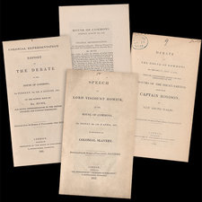 A selection of pamphlets showing title pages