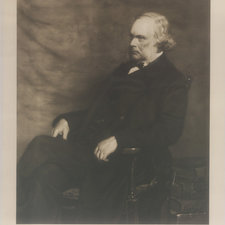 Photogravure of portrait of Lister, aged 68
