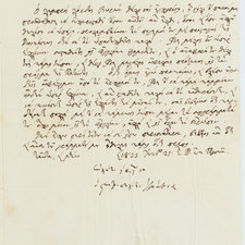 `Letter of Metropolitan Ignatios to Mavrokordatos, in Greek, introducing Lord Byron, 21 June [ie 3 July] 1823.` &crop=`C