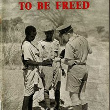 Image from 'The first to be freed: the record of British military administration in Eritrea and Somalia, 1941-1943' (HMSO, London) (Ref: Embleton 2/3/27 front cover)