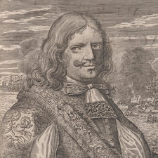 Engraved portrait of Henry Morgan