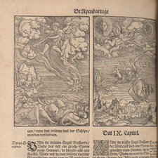 Illustrations of the Apocalypse from a Low German Luther Bible