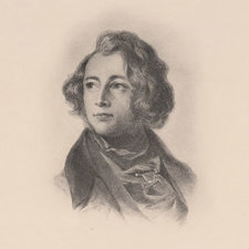 Portrait of Dickens in 1839, aged 27. From: BW Matz. Character Sketches from Dickens. London: Raphael Tuck & Sons Ltd, 1924 [Rare Books Collection PR4589 M3]