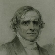 photograph of drawing of Frederick Denison Maurice dated 1859
