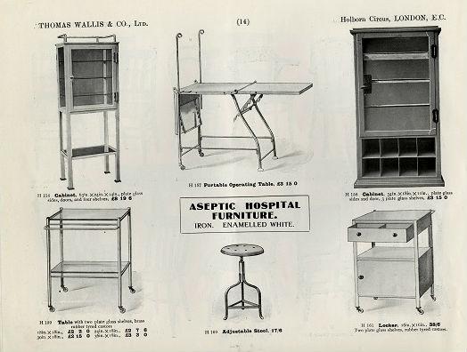 Aseptic Furniture Promoted Inside Wallisu0027 1913 Catalogue. Kingu0027s College  Archives, KH/CAT2/1 ...