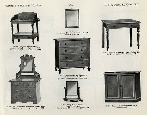 Non Aseptic Furniture Promoted Inside Wallisu0027 1913 Catalogue. Kingu0027s  College Archives, KH/CAT2/1The ...