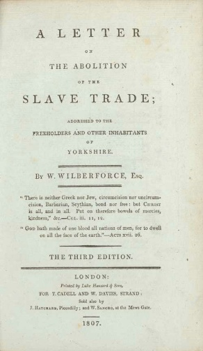 Why Was Slavery Abolished in 1833?