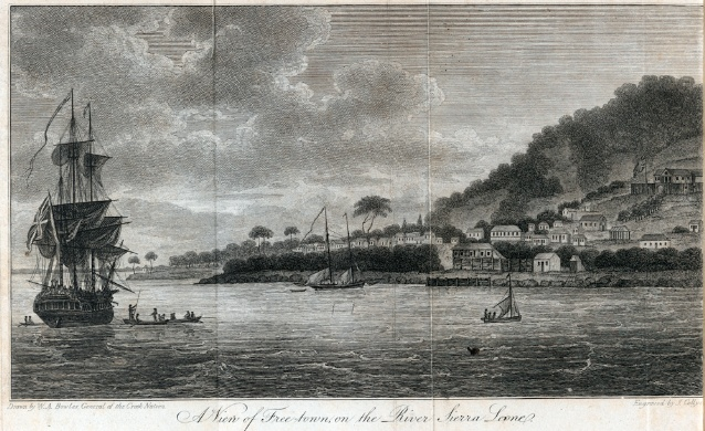 King's Collections : Online Exhibitions : Sierra Leone as colony