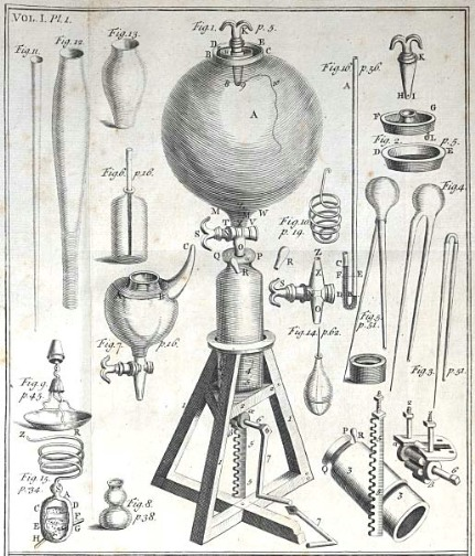 King's Collections : Online Exhibitions : Boyle's air-pump