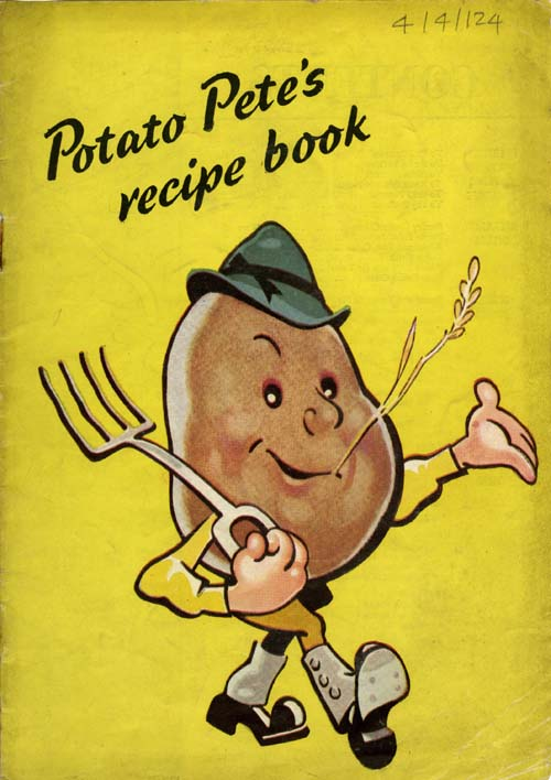 Kings collections online exhibitions the potato pete recipe book potato pete recipe book forumfinder Images