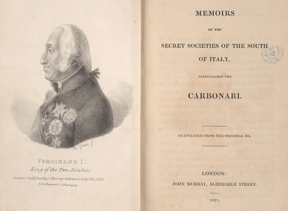 King's Collections : Online Exhibitions : Memoirs of the secret