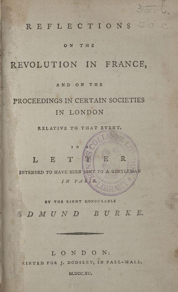 edmund burke french revolution