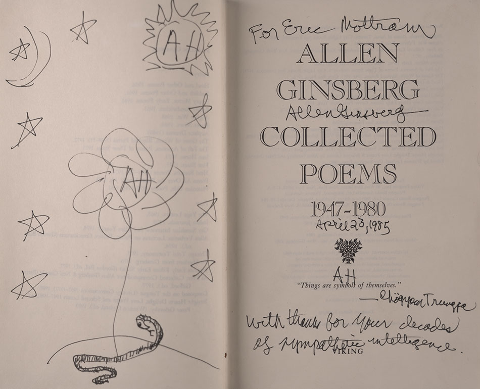 Kings Collections Online Exhibitions Allen Ginsberg